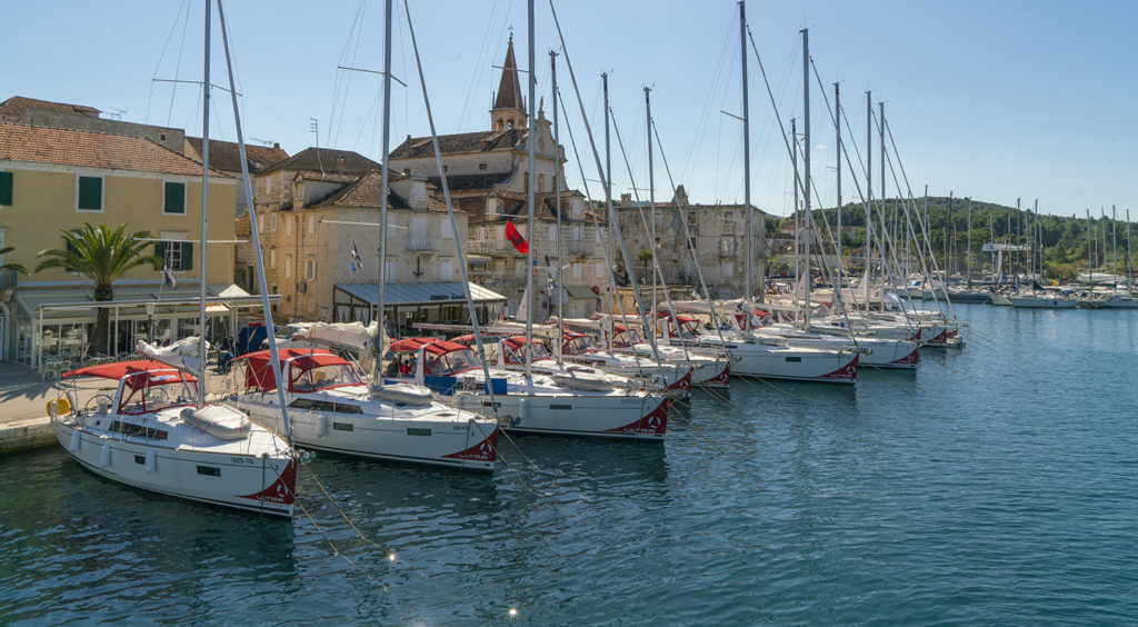 Beneteau Sailing Fleet Croatia2