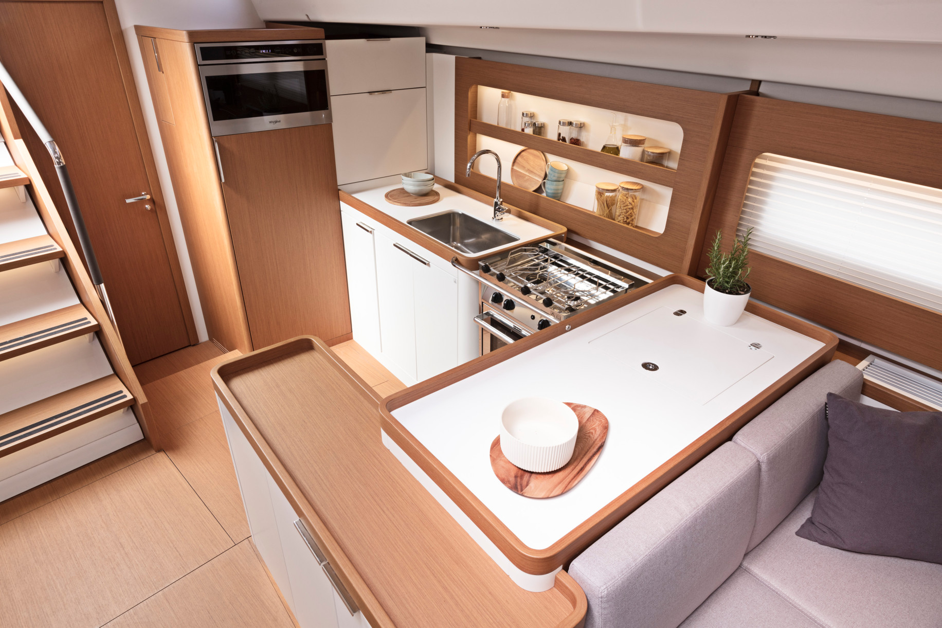 First 53 Yacht Kitchen3